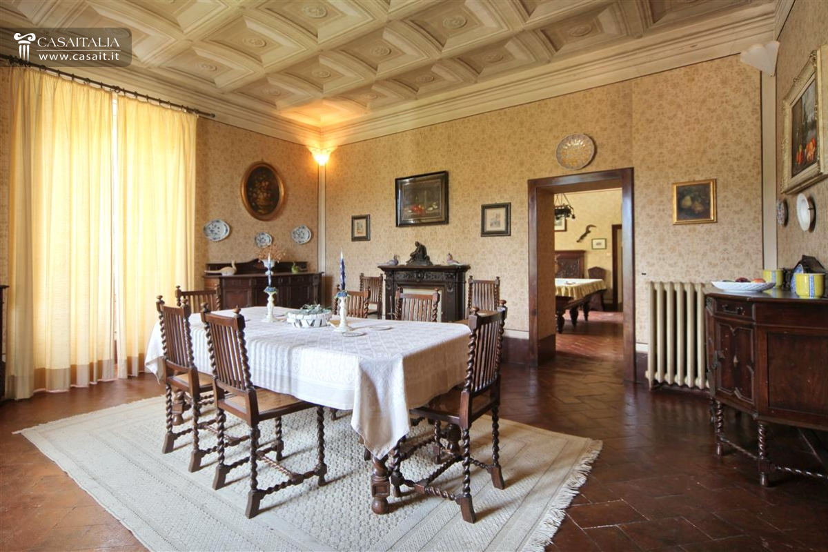 vintage estate with villa for sale in umbria perugia