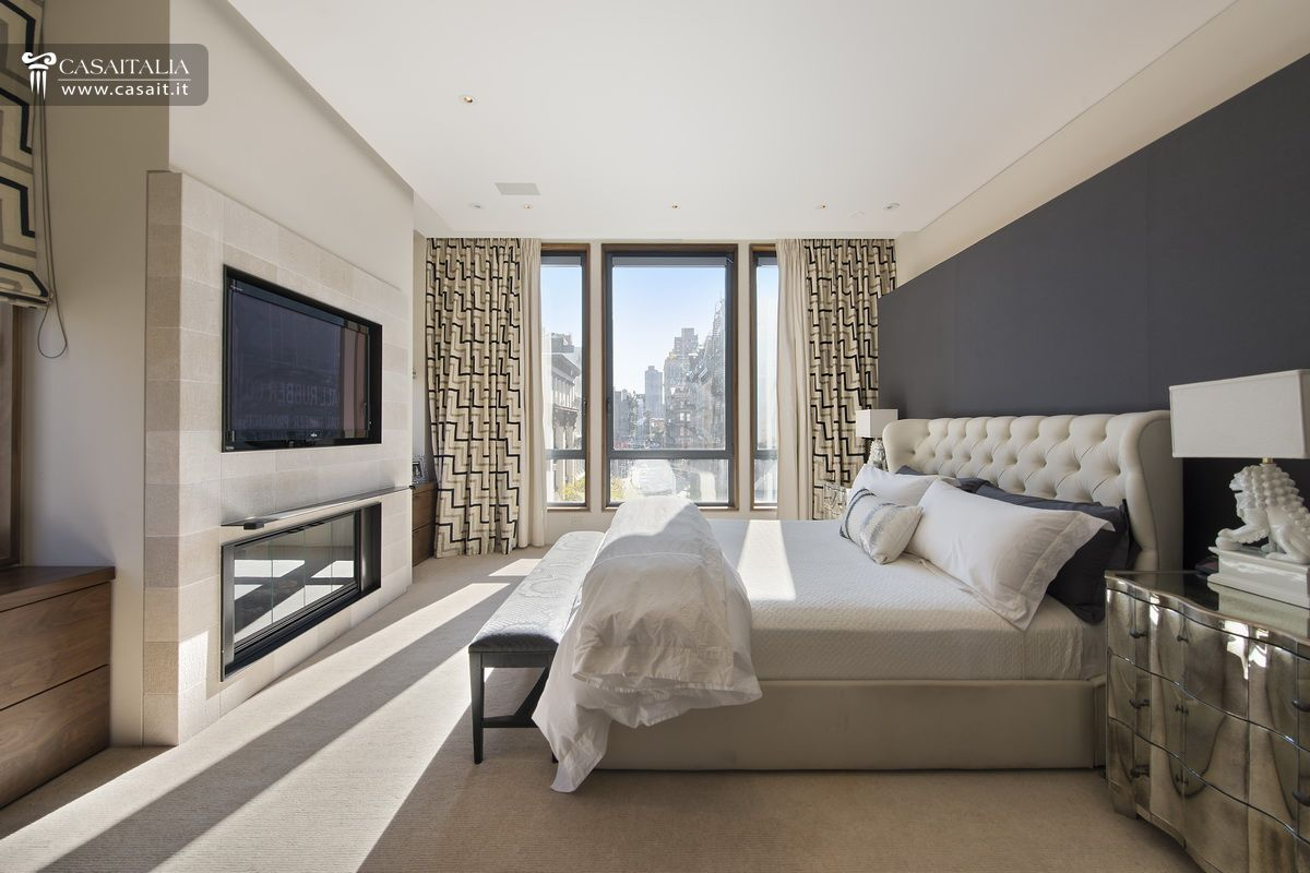 Luxury villa for sale in tribeca manhattan for Arredamento moderno di lusso