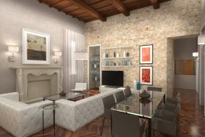 Luxury apartment for sale in Spoleto