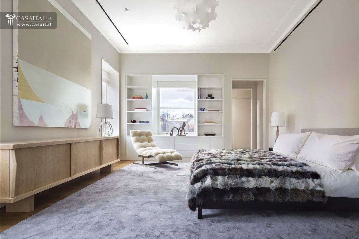 Luxury Penthouses New York Photo View Of The Living Area Of A Model Apartment Set Up In The