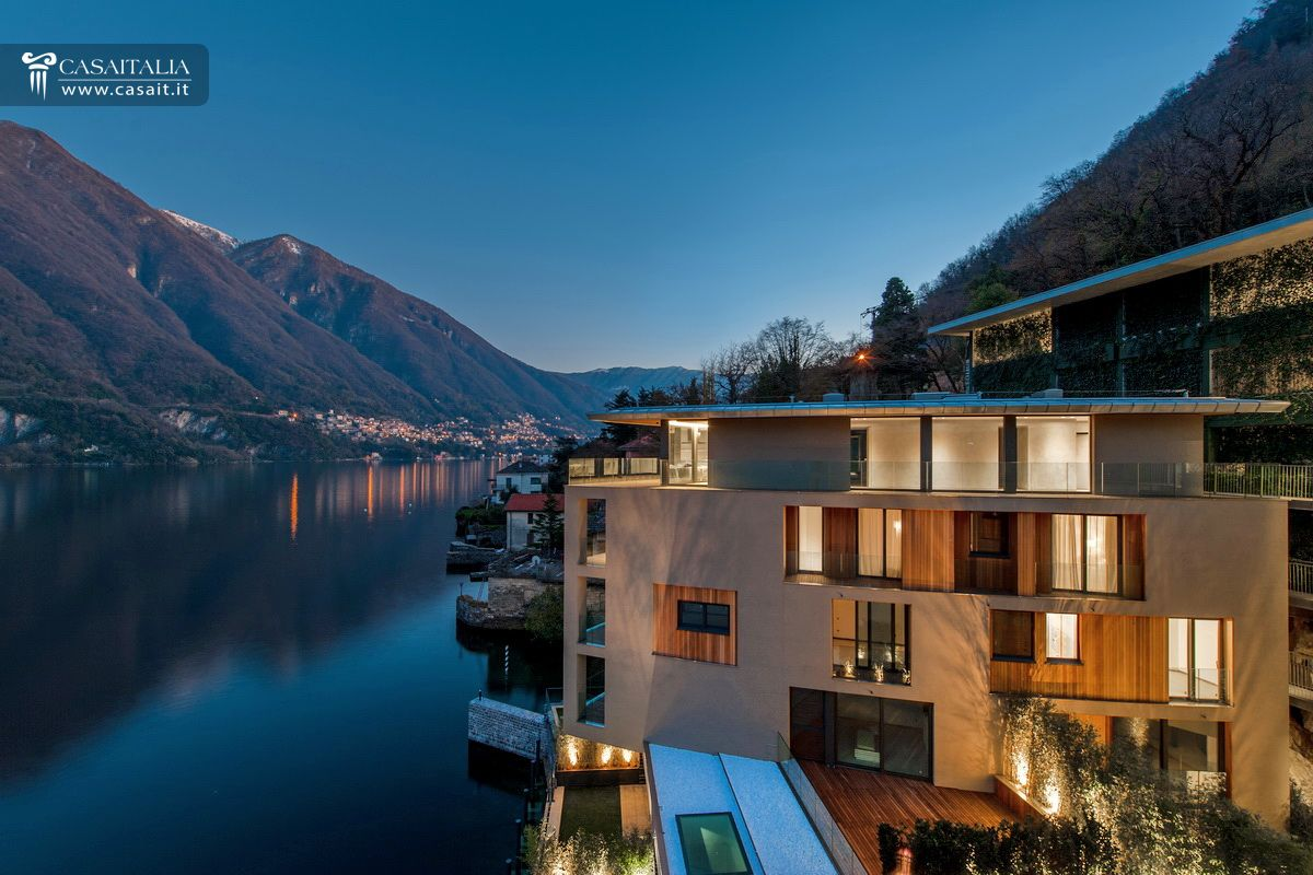 Luxury apartments for sale on Como lake