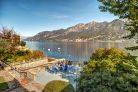 Villa with private beach for sale on Lake Como