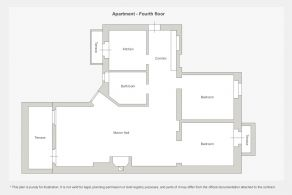Apartment - Fourth floor
