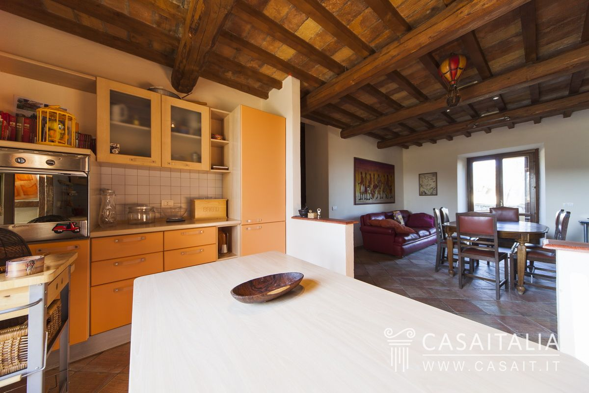 Country house with swimming pool and olive grove for Sala pranzo country
