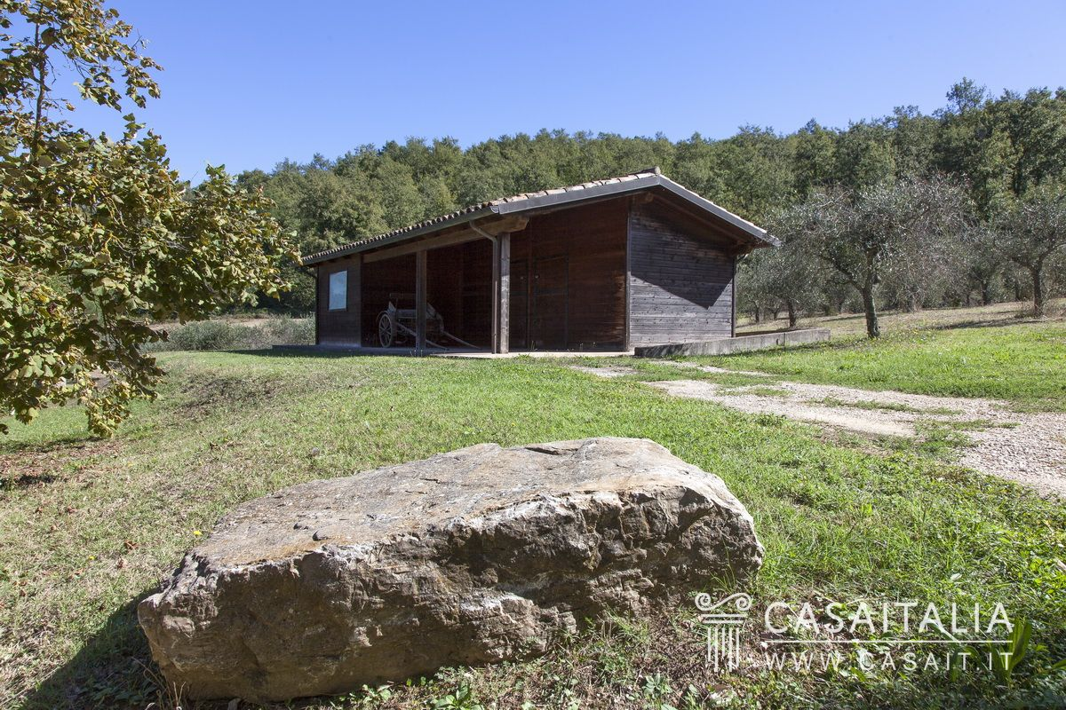Holiday farm for sale in Todi, Umbria