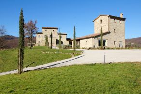 Country villa for sale in Nccone Valley, Umbria