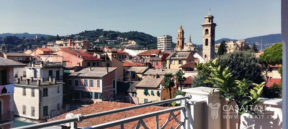 Luxury apartment for sale in the centre of Rapallo