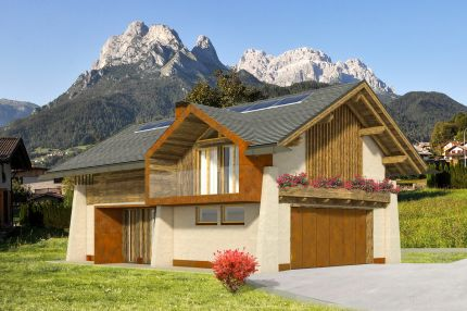Luxury chalet for sale in the Dolomites, Agordo