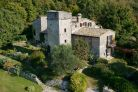 Umbria - Farmhouse with tower for sale in Todi